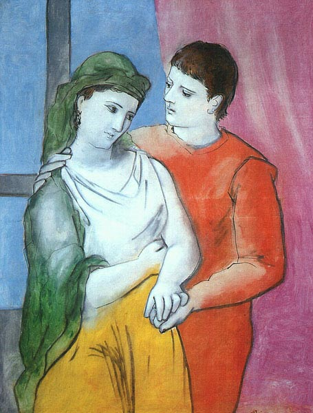 Lovers by Pablo Picasso