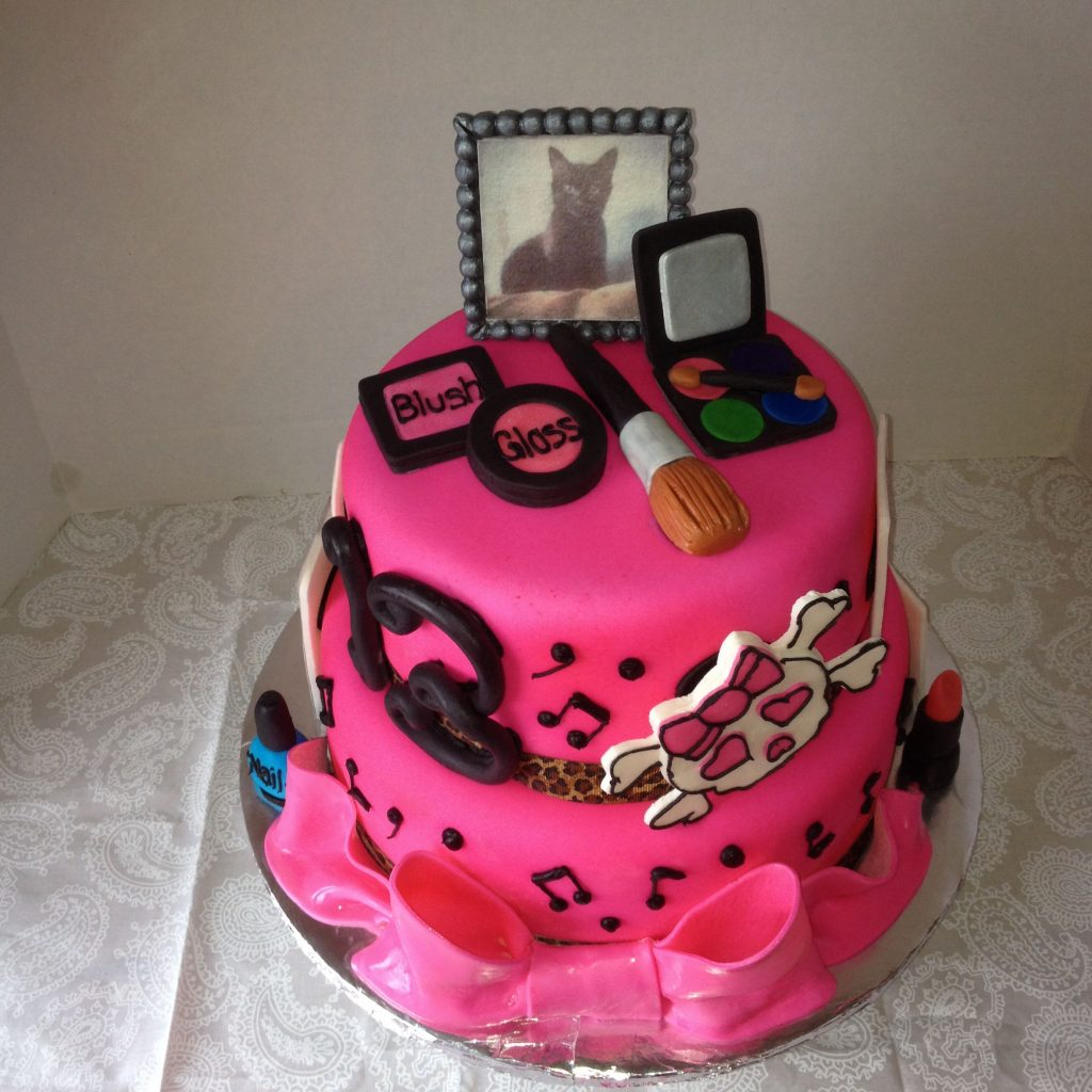 The teen girl cake