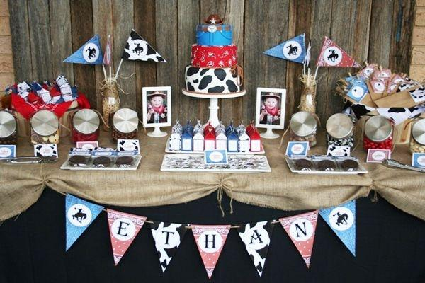 Cowboy Themed Birthday Party