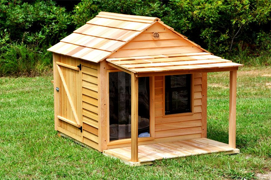 Cottage Dog House for Large Dogs