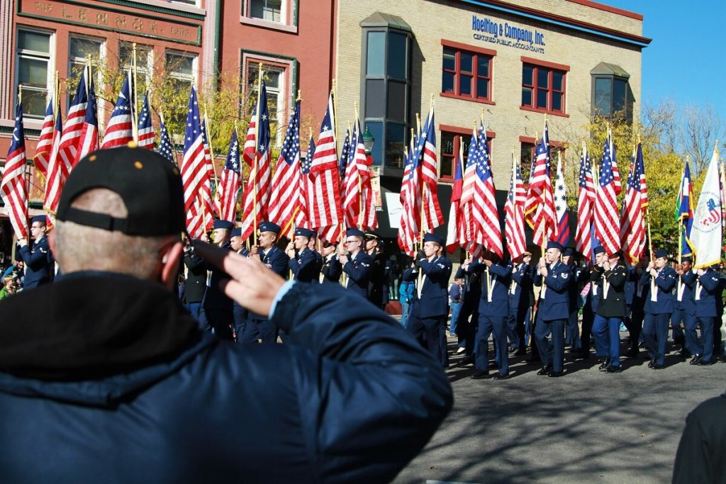 Contract a veteran (How to Plan a Perfect Veterans Day)