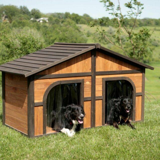 Double Door Dog House