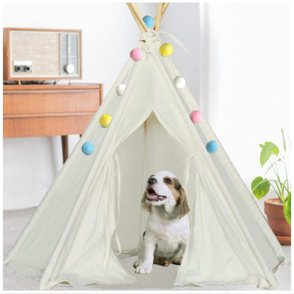 The Puppy Tent (DIY Dog House)