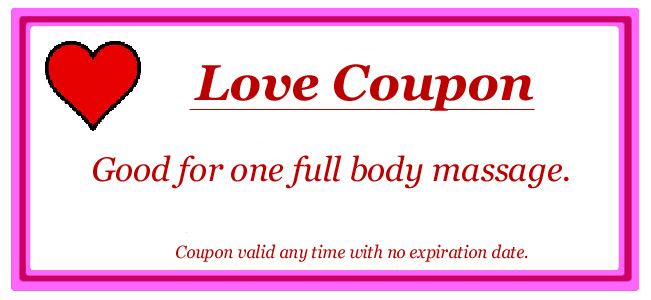 A Professional Massage Coupon