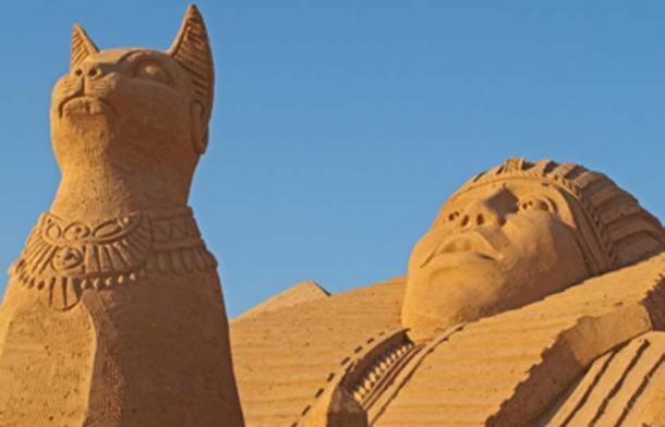 Cat Goddess Bastet (International Cat Day)