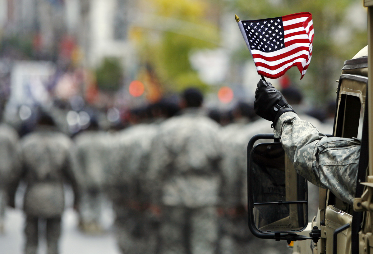 Fly your flag appropriately (How to Plan a Perfect Veterans Day)