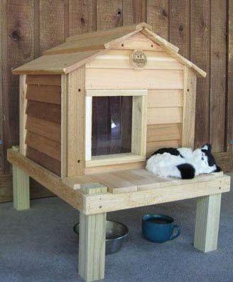 DIY Wood Pallet Cat House