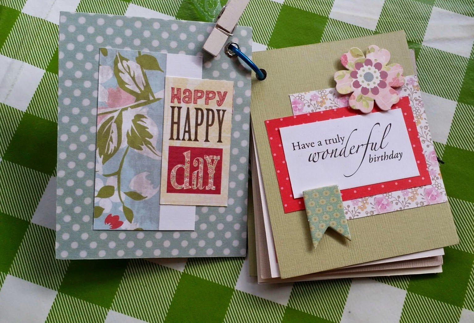 Scrapbook Birthday Card