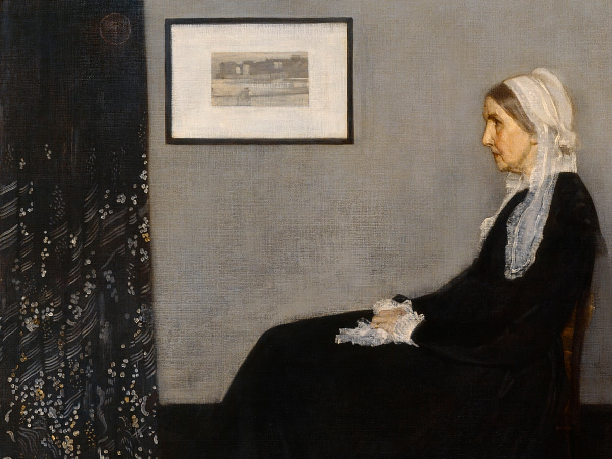 Whistler's Mother (Famous Paintings of Women)