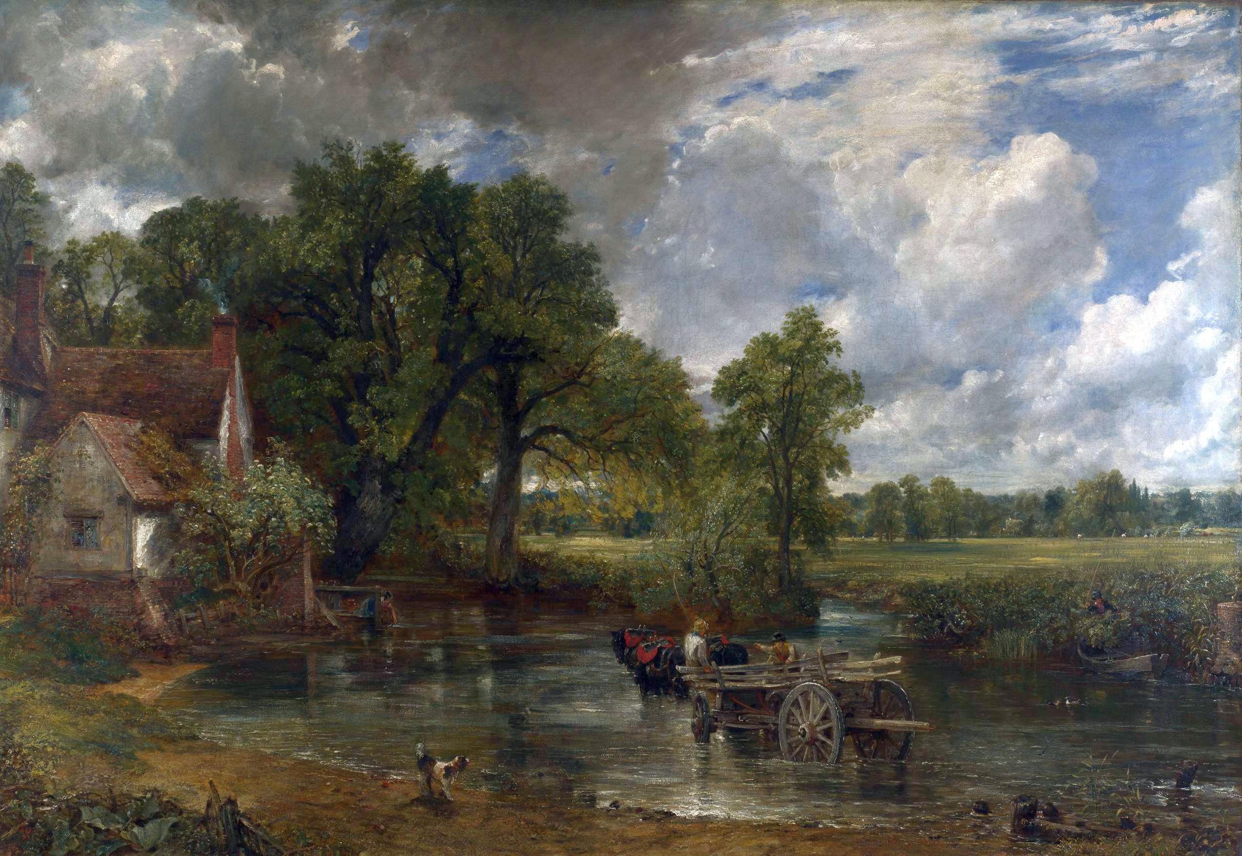 The Hay Wain- John Constable