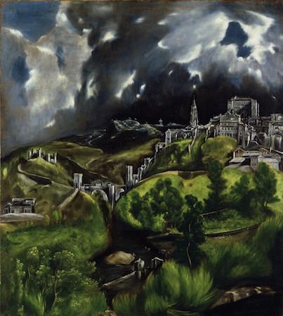 View of Toledo- EL Greco