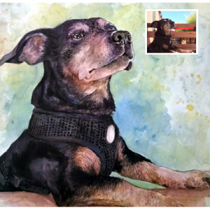 occasiions to gift a pet portrait