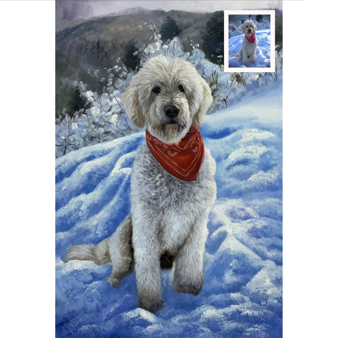 occasions to gift a pet portrait